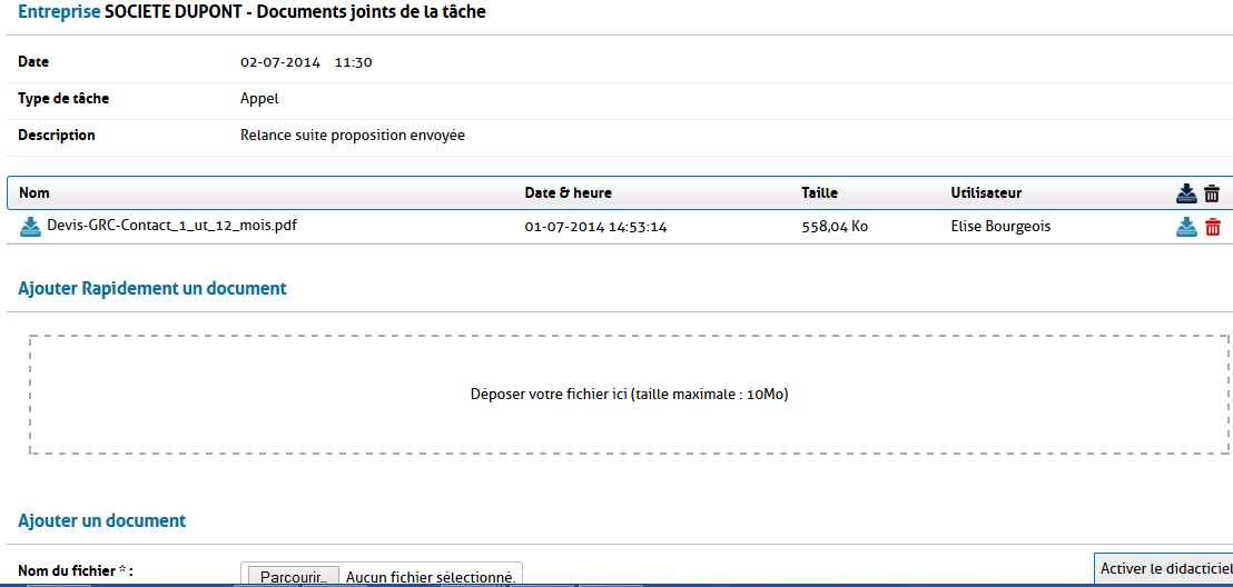 comment joindre 2 documents pdf