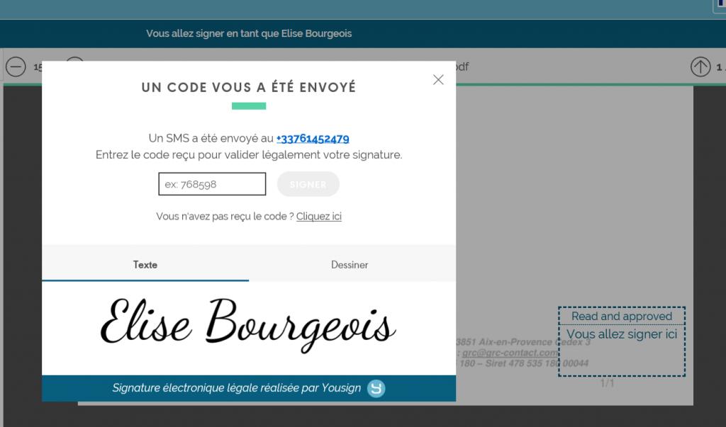 signature électronique YouSign connecté à votre CRM